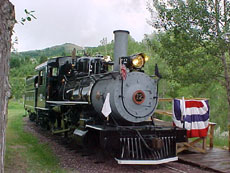 Baldwin Steam Engine